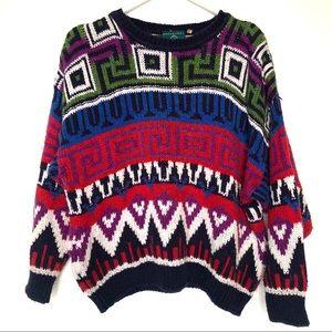 Gaeltarra Ireland Vintage Funky Chunky Sweater